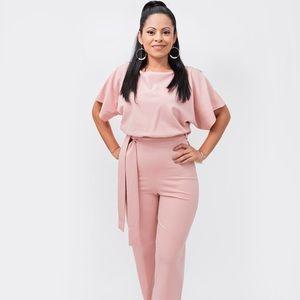 New Pink Dust color jumpsuit